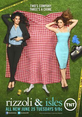 Rizzoli & Isles Season 4's Poster