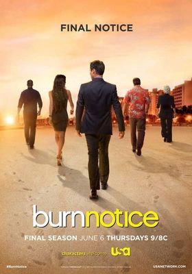Burn Notice Season 7's Poster
