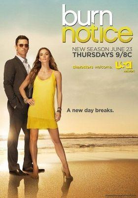 Burn Notice Season 5's Poster