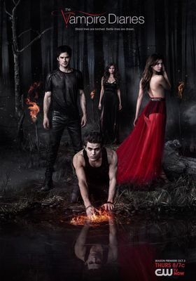 The Vampire Diaries Season 5's Poster