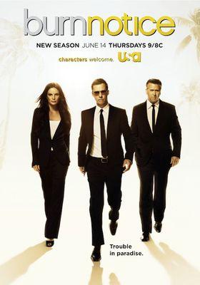 Burn Notice Season 6's Poster