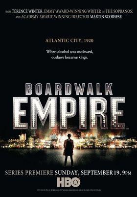 Boardwalk Empire Season 1's Poster