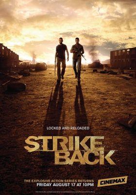 Strike Back Season 3's Poster
