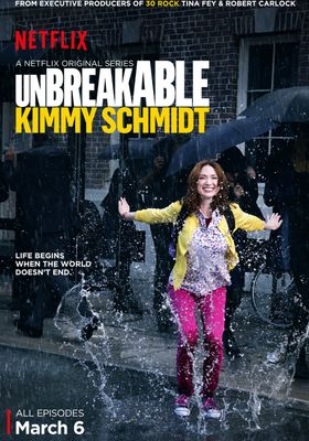 언브레이커블 키미 슈미트 시즌 1의 포스터