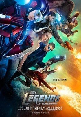 DC 레전드 오브 투모로우 시즌 1의 포스터