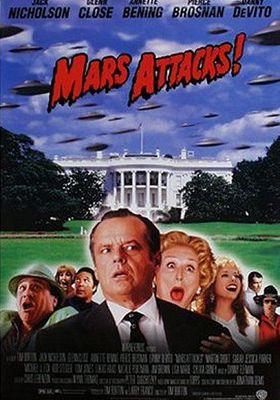 화성 침공의 포스터
