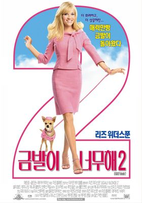 Legally Blonde 2: Red, White & Blonde's Poster