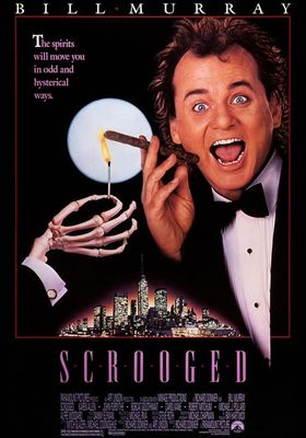 Scrooged's Poster