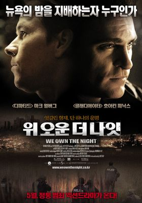 We Own the Night's Poster