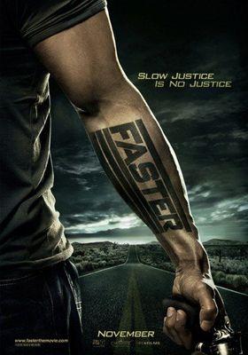 『ファースター 怒りの銃弾』のポスター