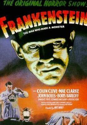 Frankenstein's Poster