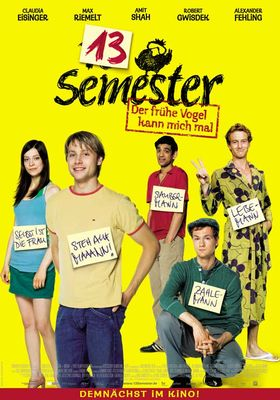 13 Semester's Poster