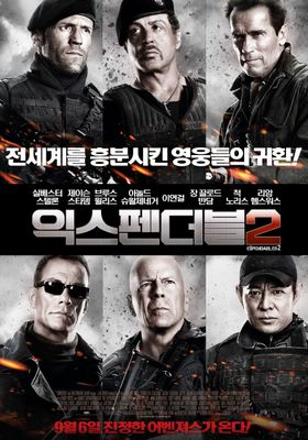 The Expendables 2's Poster