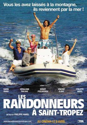 Les Randonneurs à Saint-Tropez's Poster