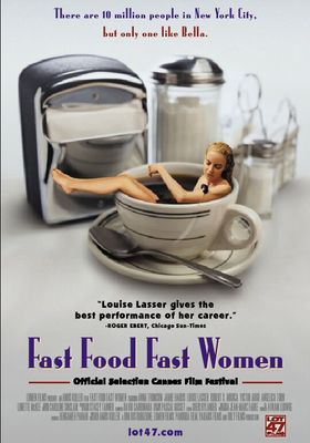 Fast Food Fast Women's Poster