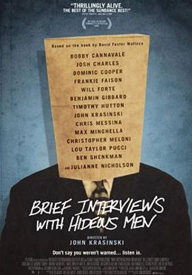 Brief Interviews with Hideous Men's Poster