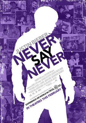 저스틴 비버: 네버 세이 네버의 포스터
