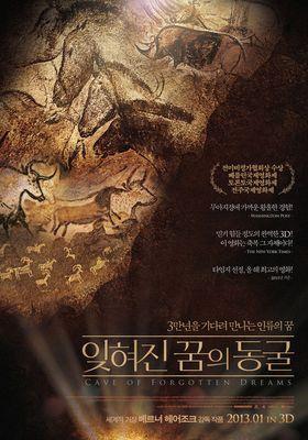 『世界最古の洞窟壁画 3D 忘れられた夢の記憶』のポスター