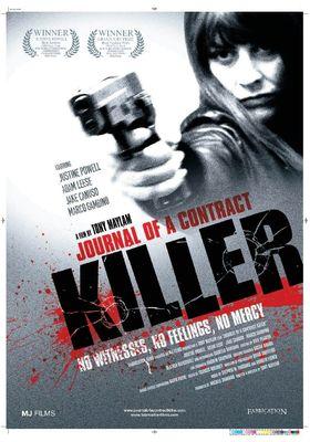 저널 오브 어 콘트랙트 킬러의 포스터