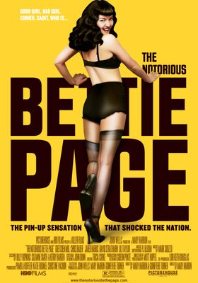 The Notorious Bettie Page's Poster