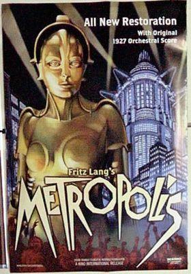 『メトロポリス(1927)』のポスター