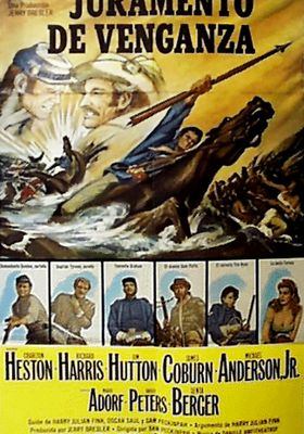 Major Dundee's Poster