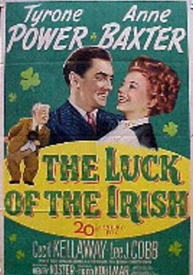 아일랜드의 운수의 포스터