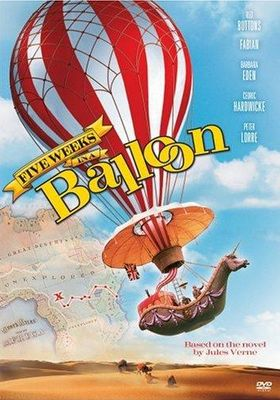 Five Weeks in a Balloon's Poster