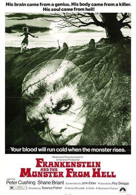 프랑켄슈타인과 지옥에서 온 괴물의 포스터
