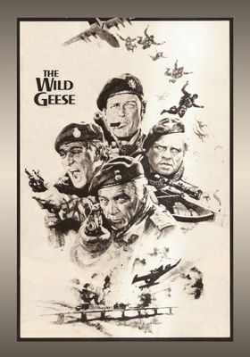 The Wild Geese's Poster