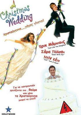 A Christmas Wedding's Poster