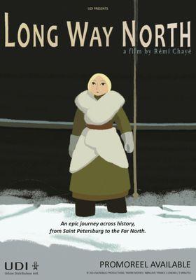 사샤의 북극 대모험의 포스터