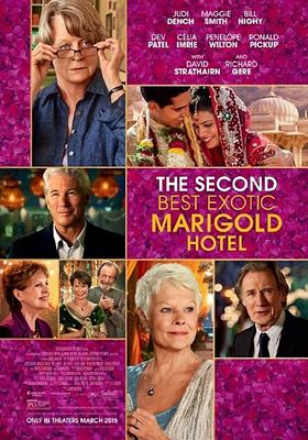 The Second Best Exotic Marigold Hotel's Poster