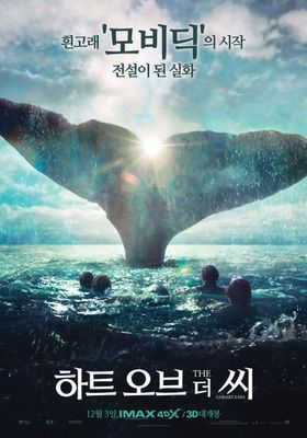 In the Heart of the Sea's Poster