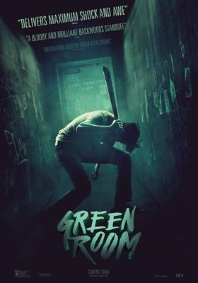 Green Room's Poster
