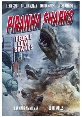 Piranha Sharks's Poster