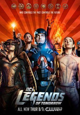 DC 레전드 오브 투모로우 시즌 2의 포스터