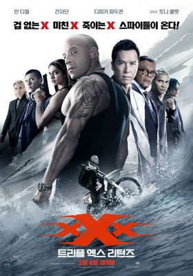 xXx: Return of Xander Cage's Poster