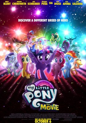 My Little Pony: The Movie's Poster