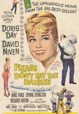 Please Don't Eat the Daisies's Poster
