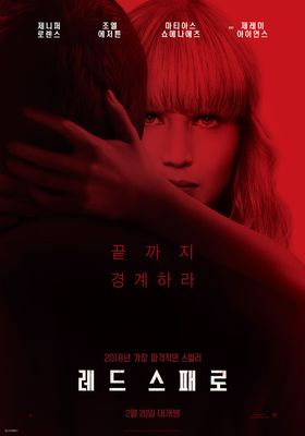 Red Sparrow's Poster