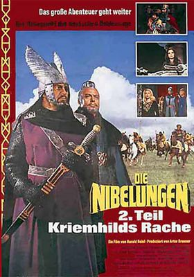 Die Nibelungen, Teil 2: Kriemhilds Rache's Poster