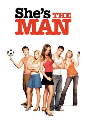 She's the Man's Poster
