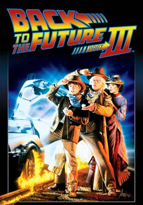 Back to the Future Part III's Poster