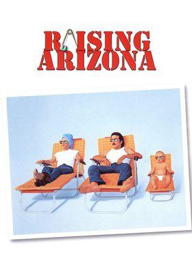 Raising Arizona's Poster