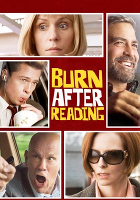 Burn After Reading's Poster