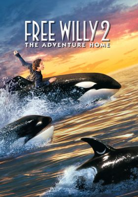 Free Willy 2 - The Adventure Home's Poster
