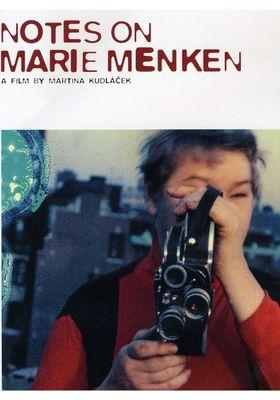 마리 멘켄에 관한 노트의 포스터