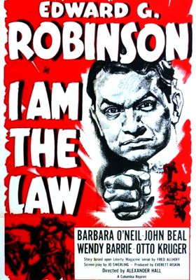 I Am The Law's Poster