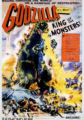 Godzilla, King of the Monsters!'s Poster